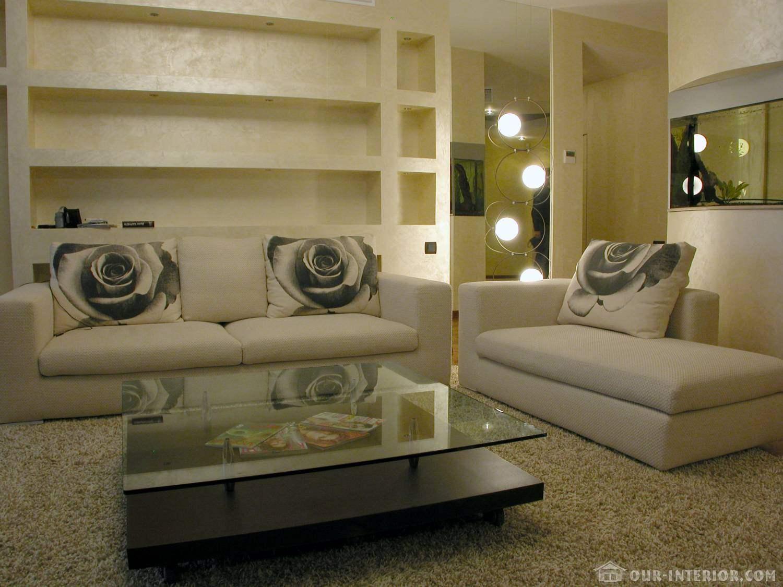 Пастельная гамма в оформлении интерьера квартиры