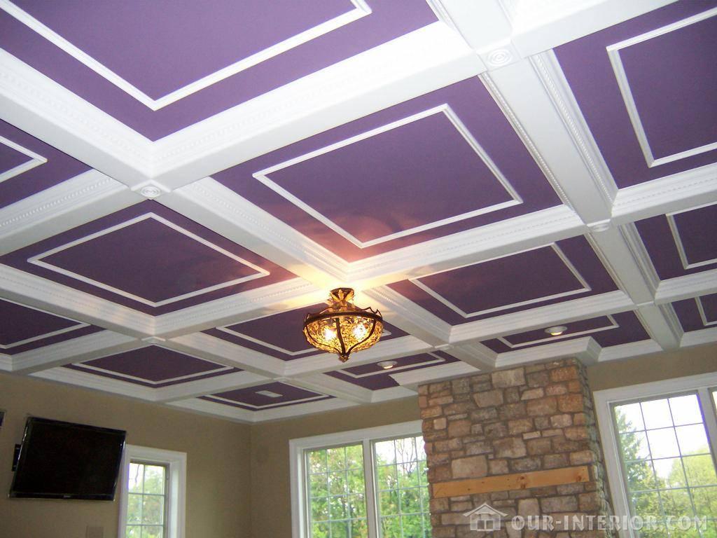 Как сделать потолки из гипсокартона в частном доме