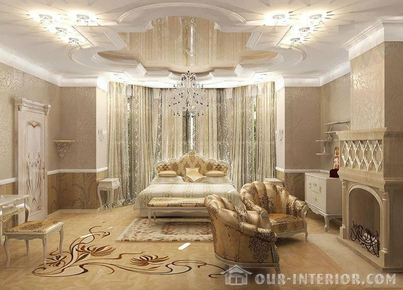 Дизайн потолков  классика