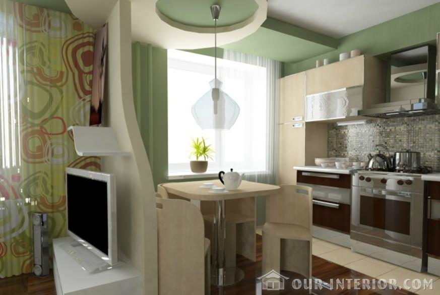 Маленькой малогабаритной кухни фото и