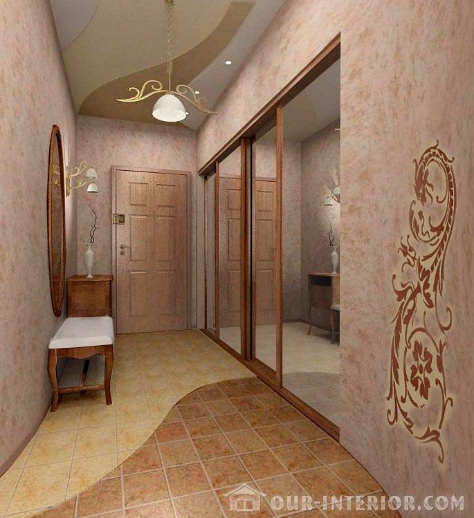 Дизайн тумбы в коридор
