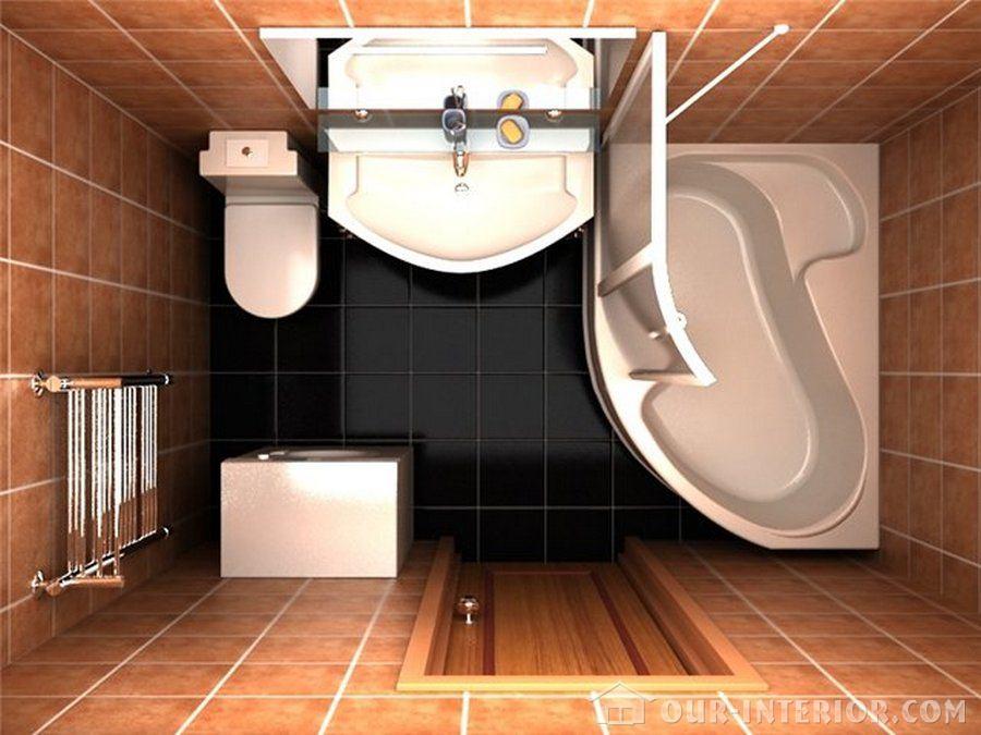Ванная комната дизайн фото 5 кв м .