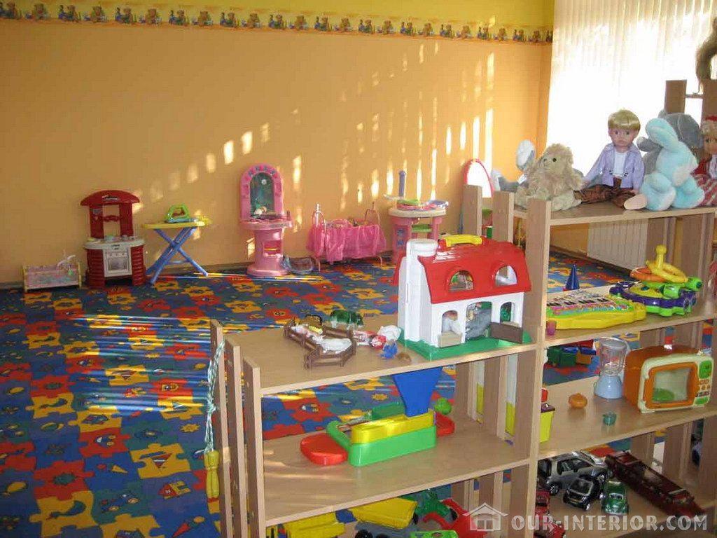 Интерьер детского сада эксклюзивно