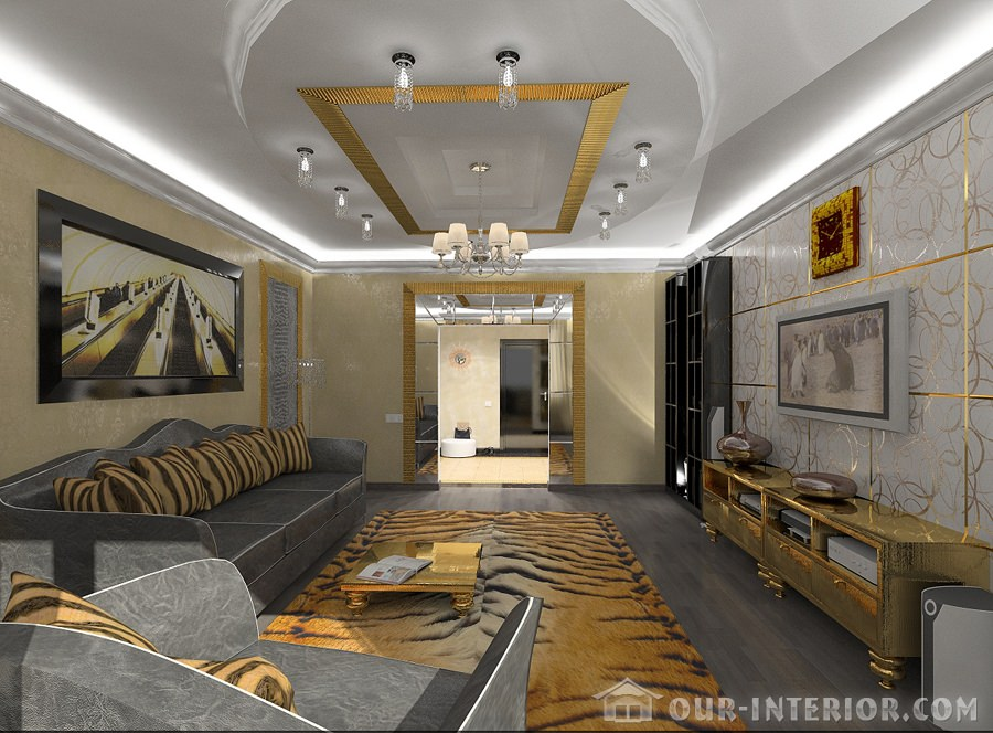 гостиная с одним окном дизайн фото