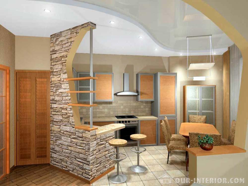 Дизайн интерьер стен