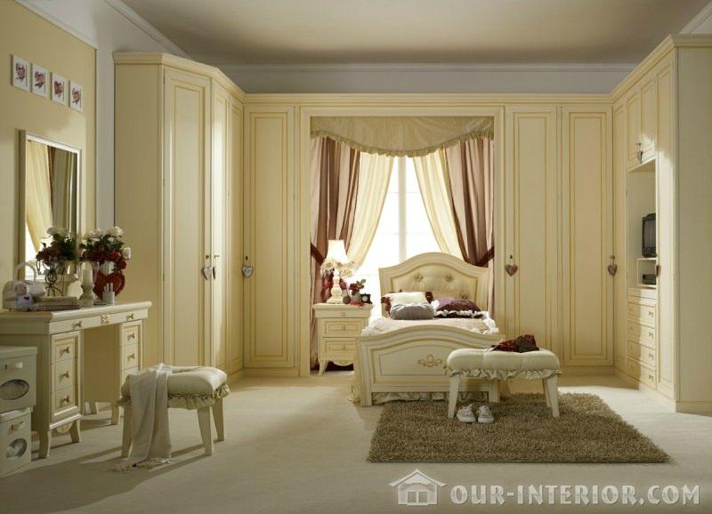 Интерьер спальни детской фото