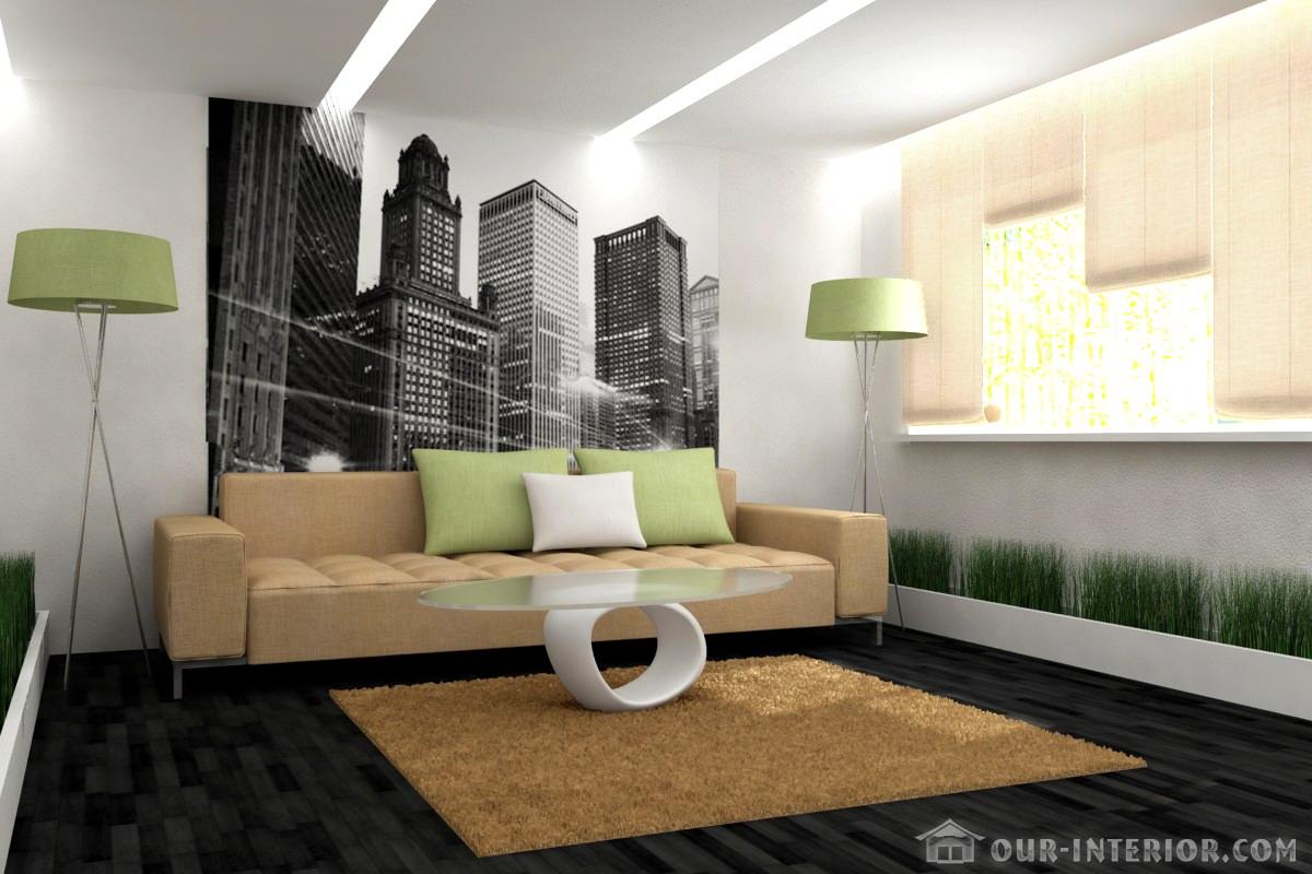 Интерьер маленькой гостиной - фото и советы - эксклюзивно ...