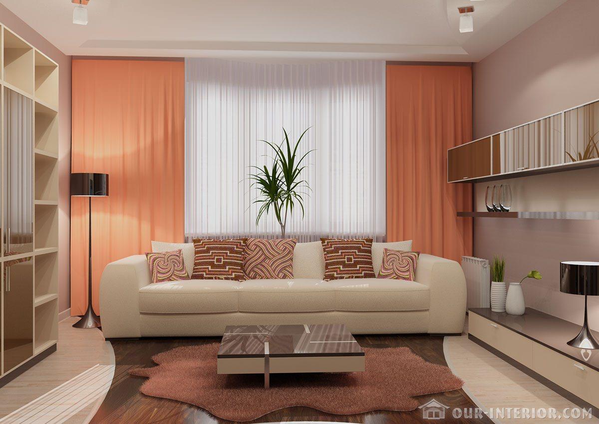 Интерьер небольшой комнаты