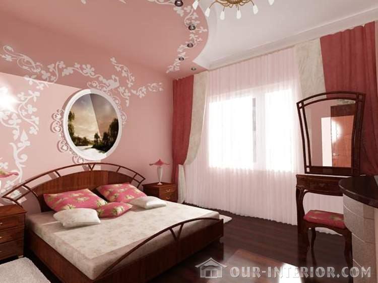 Спальня 9 кв м дизайн фото в