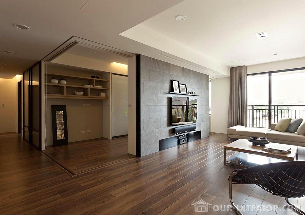 Дизайн стен квартиры фото