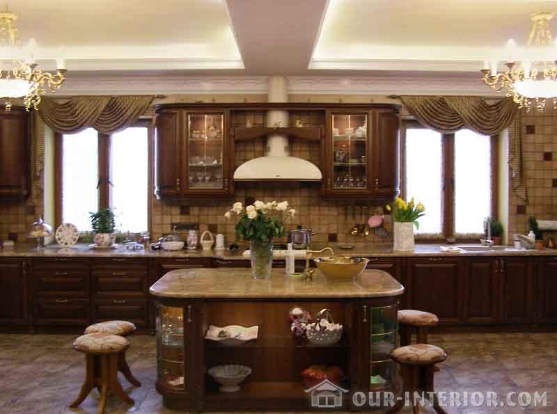 Интерьер кухни в частном доме своими руками фото