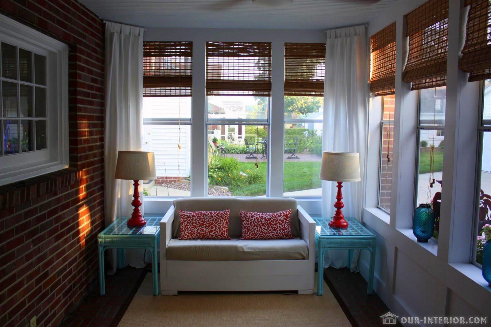 Дачный ответ шторы. - правила сочетания текстиля: шторы, под.
