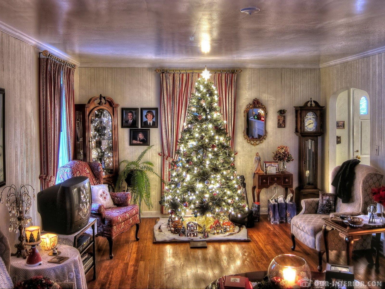 Новогодний интерьер дома - эксклюзивно на Our-Interior.com