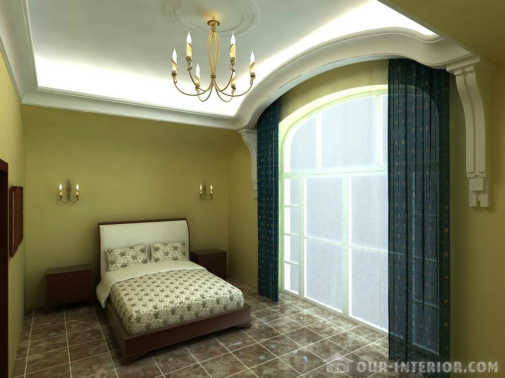 Дизайн интерьера мансарды спальня не