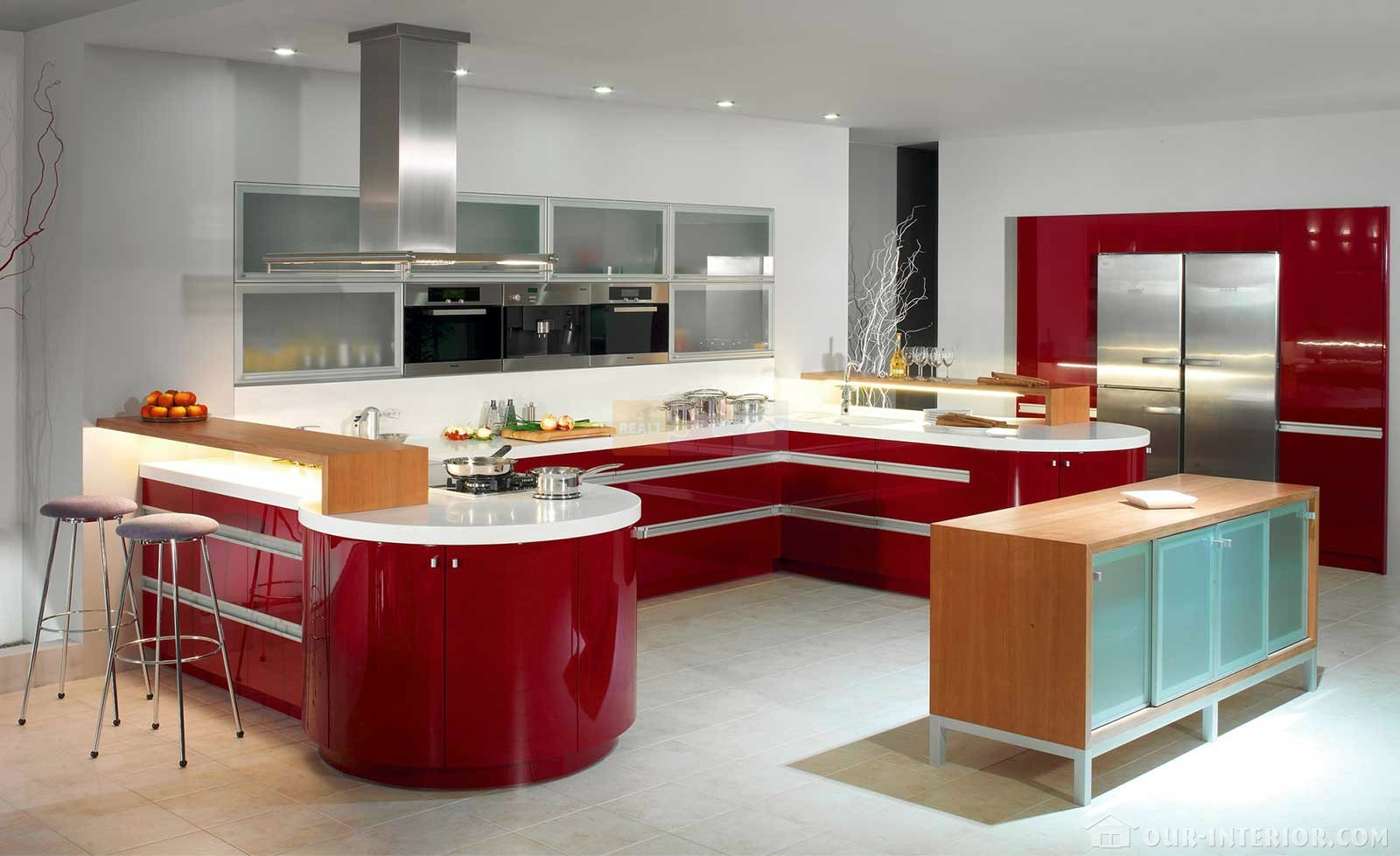кухня флер фото
