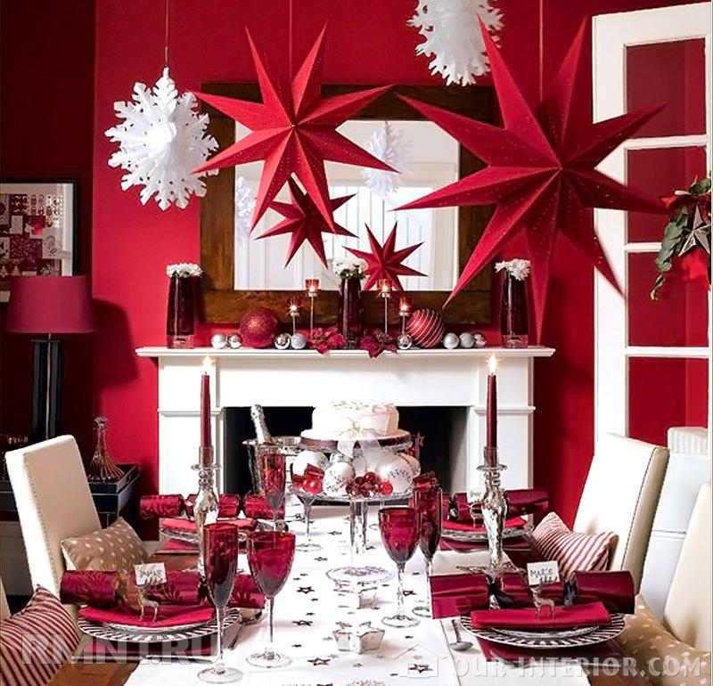 Идеи оформления комнаты к новому году своими