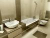 Хороший дизайн ванной комнаты, фото