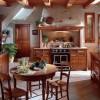 Оформляем кухню в деревенском стиле интерьера