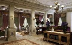 Зонирование в интерьере столовой-гостиной