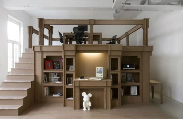 Мебель из бумаги – новинка в интерьере!