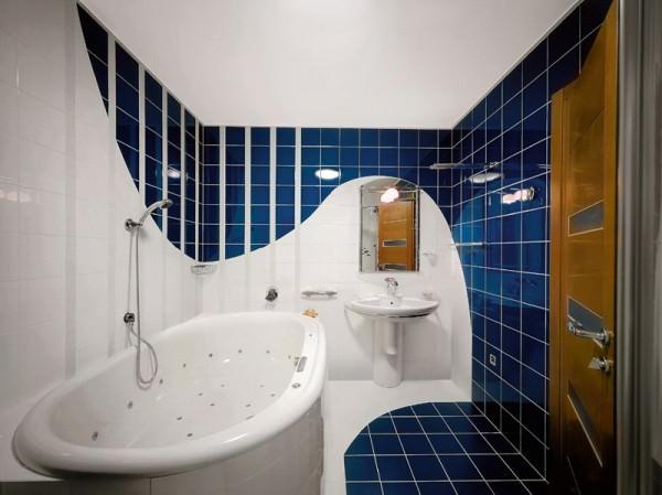 Интерьер ванной комнаты маленького размера - фото и советы