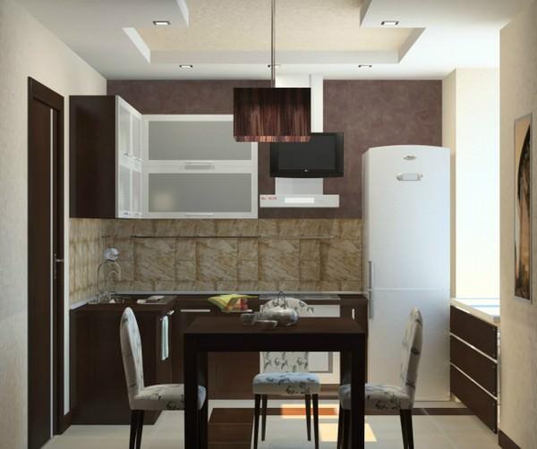 Интерьер кухни в хрущевке - фото и советы