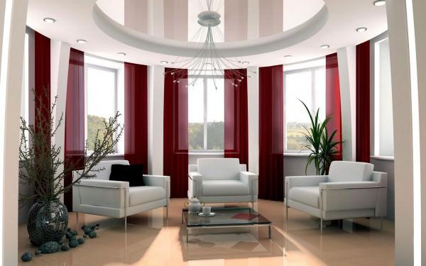 Белая мебель в интерьере