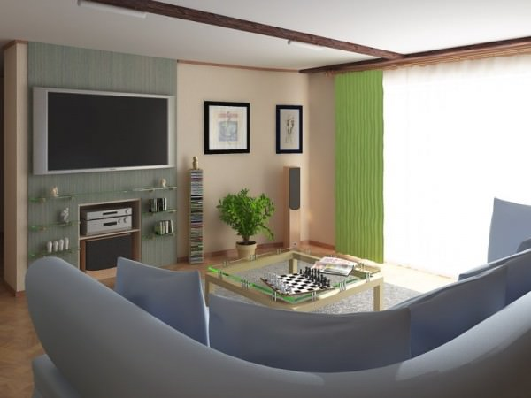 Интерьер зала в квартире - фото и советы