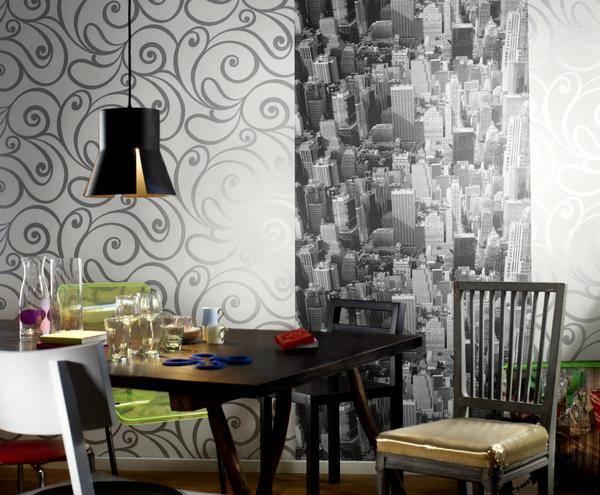 Экономный декор – украшаем интерьер остатками обоев
