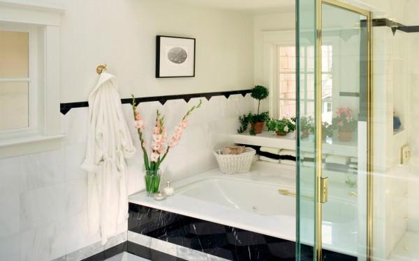 Особенности стиля ванной комнаты