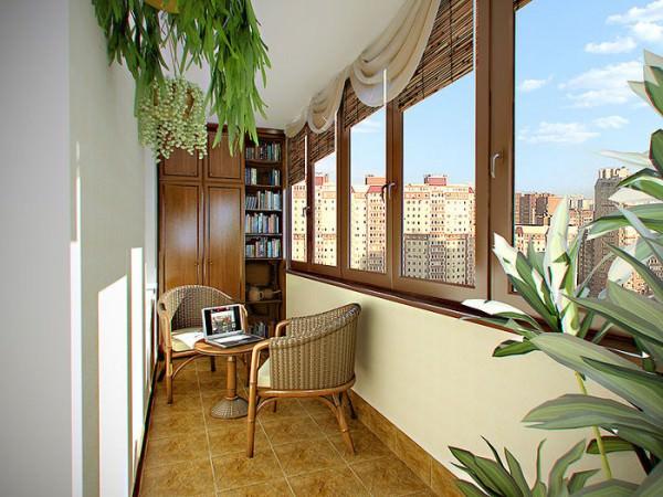 Как оформить интерьер балкона?