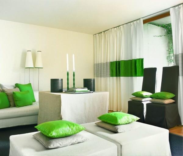 Зеленые интерьеры