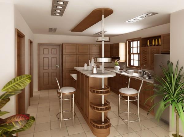 Барная стойка в кухне – излишество