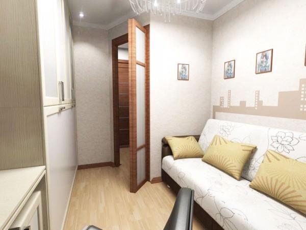 Интерьер комнаты в общежитии - фото и советы