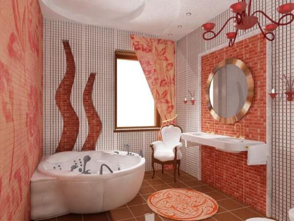 Интерьер ванной комнаты - фото и советы