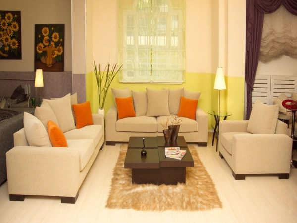 Интерьер гостиной комнаты - фото и советы