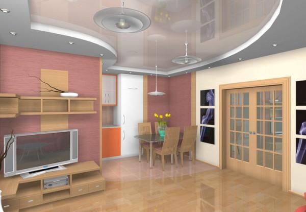 Интерьер малогабаритной квартиры - фото и советы