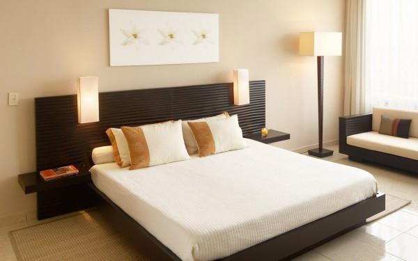 Интерьер спальни размером 9 кв. м.