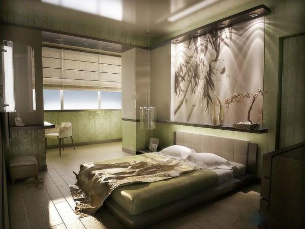 Интерьер спальни в картинках