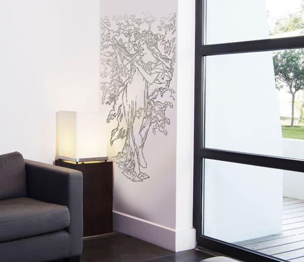 Новый модный способ покраски стен – трафаретом!