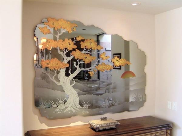 Зеркала в интерьере - фото и советы
