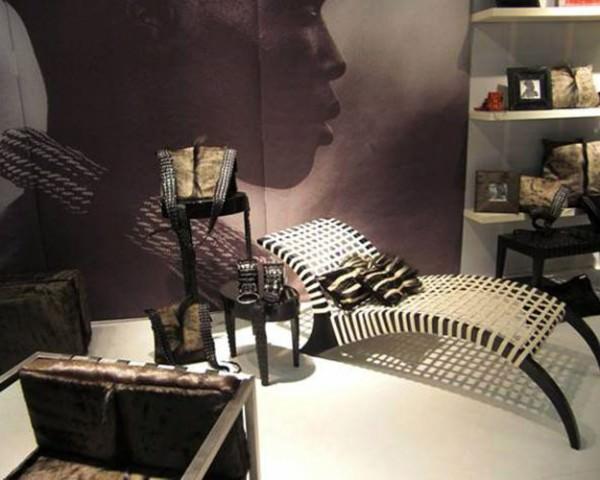 Интерьер в модном африканском стиле