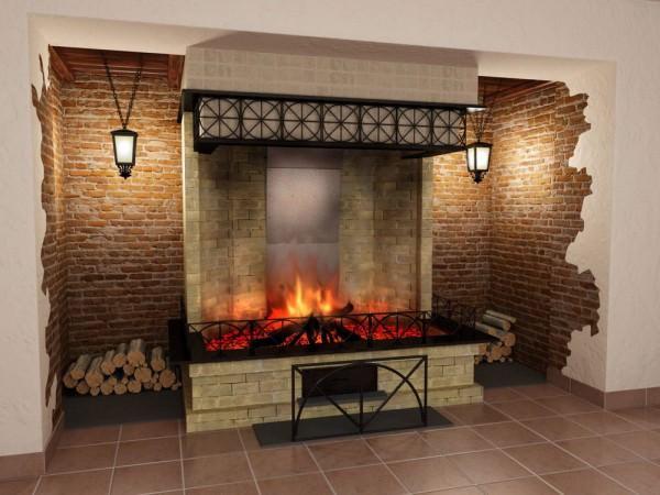 Камин в доме – это уют и тепло