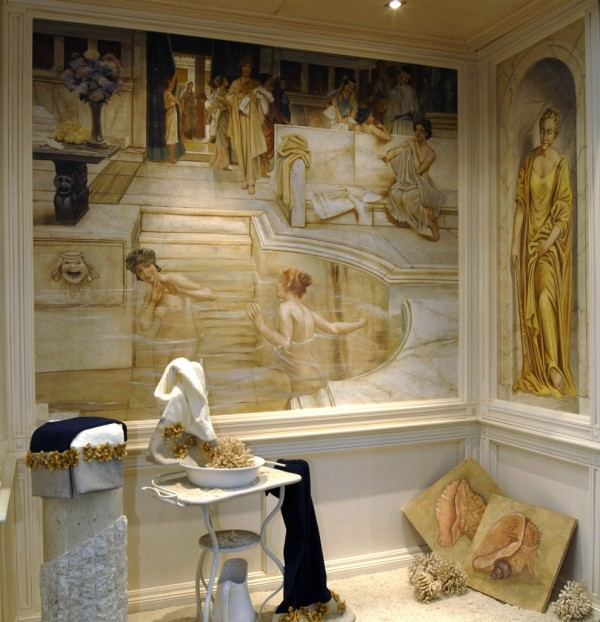 Современные фрески: история возникновения, описание и преимущества