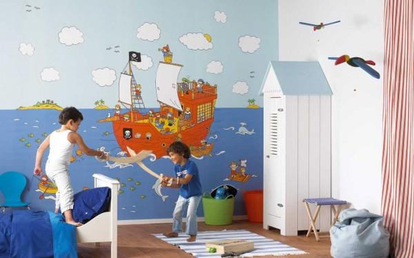 Детские обои - оформляем интерьер детской комнаты