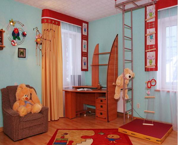 Шторы для детской комнаты, дизайн, цветовая гамма…