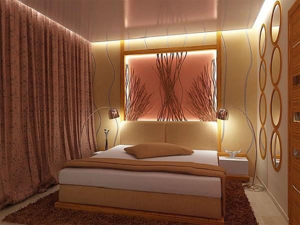 Интерьер маленькой спальни в хрущевке
