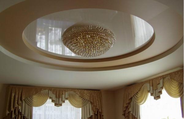 Интерьер потолков - фото и советы