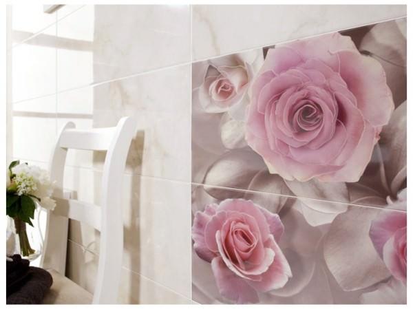 Керамическая фотоплитка для ванной комнаты или кожаная?