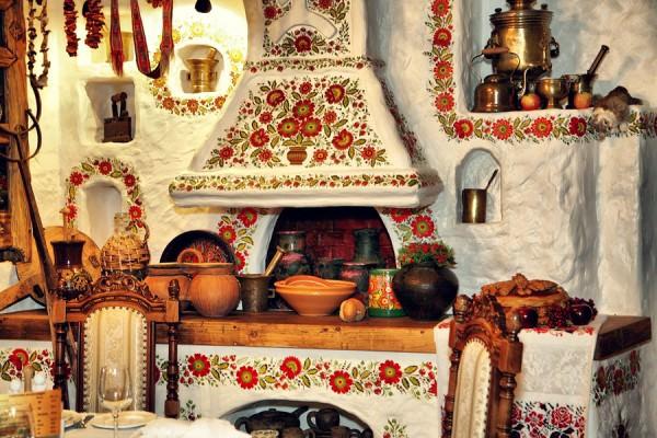 Кухня в украинском стиле: ярко, уютно, колоритно